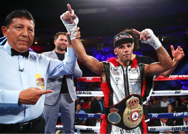 Yafai Stops Carmona To Retain Title