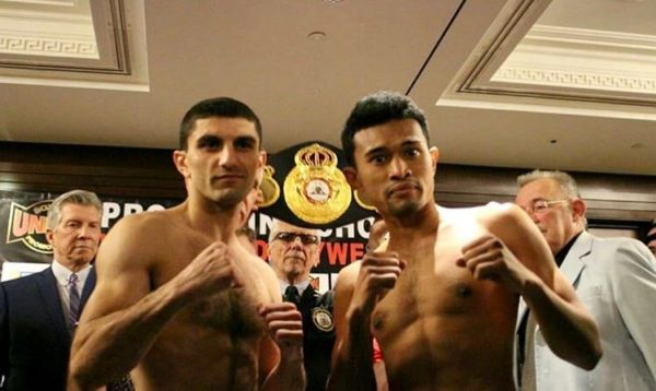 Dalakian and Thaiyen Make Weight For Flyweight Title Fight