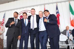 Klitschko, Morales y Wright fueron inmortalizados en Canastota