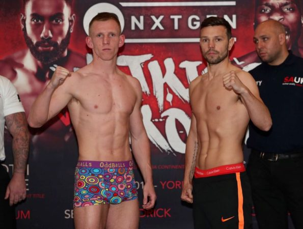 Cheeseman and Upton Title Fight WBA-International