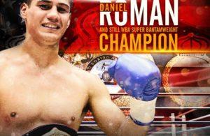 Campeón Daniel Román dominó a Moisés Flores en Texas.