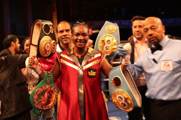 Shields and Rankin meet this Saturday in Kansas for the WBA belt