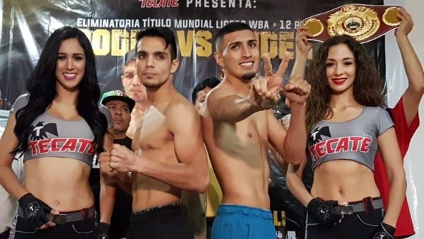 Zepeda and Diaz Make Weight For WBA-Intercontinental Title