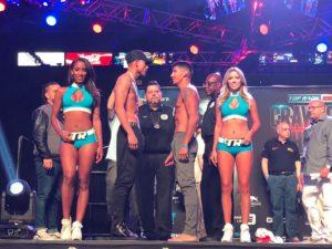 Frank Rojas y José Benavidez a pelea eliminatoria de peso welter de la AMB