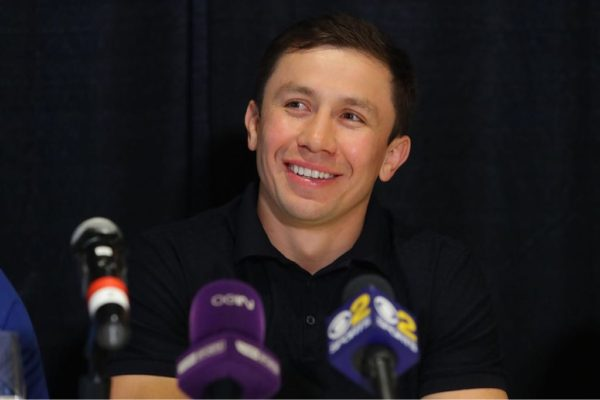 GGG Holds Press Conference in LA.
