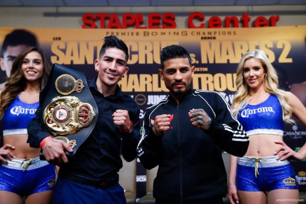 Santa Cruz and Mares Hold Final Press Conference