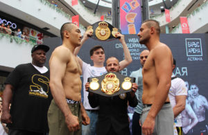 Beibut Shumenov vs Hizni Altunkaya weigh-in