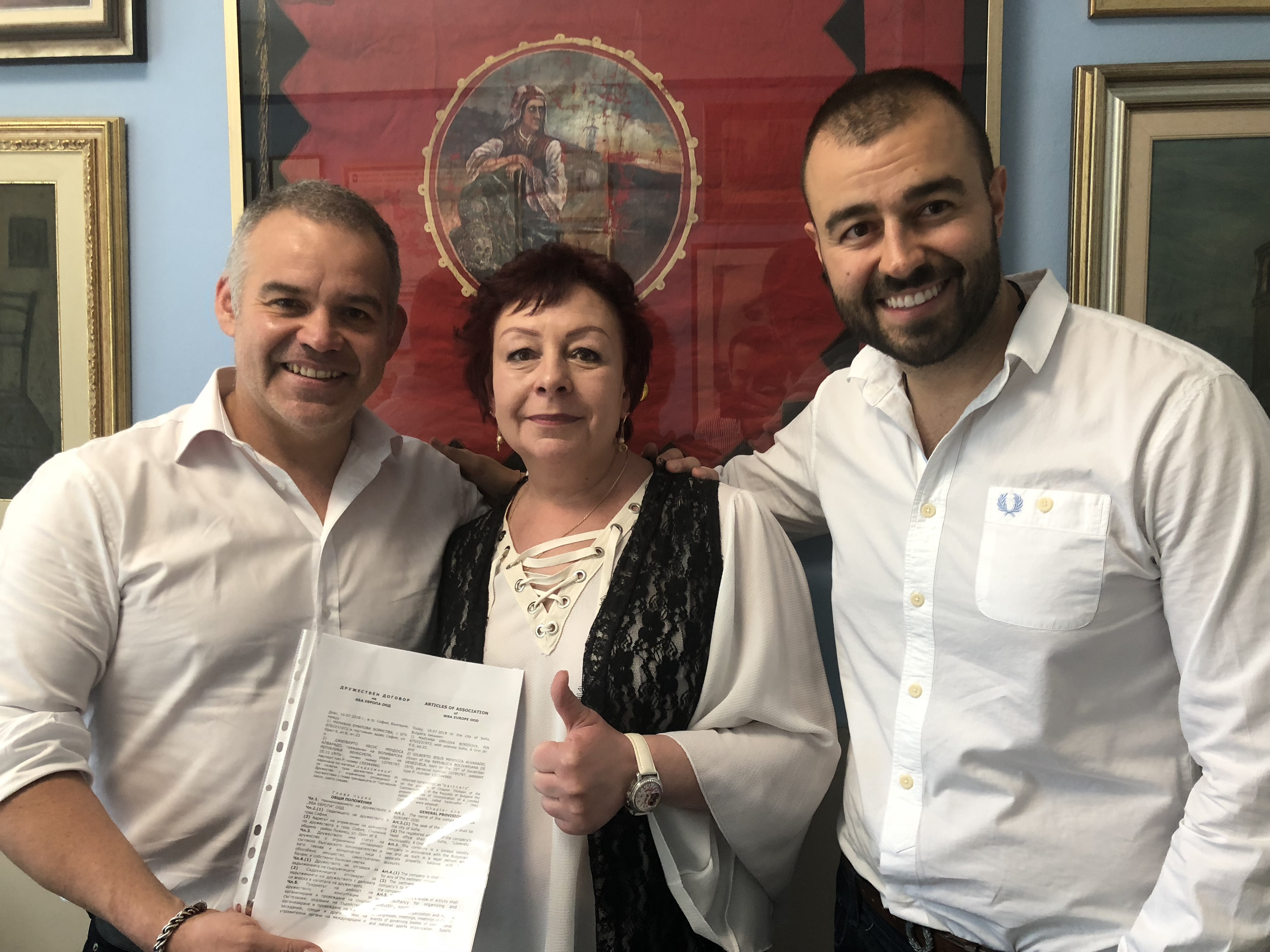 Gilberto Jesus Mendoza will travel to Russia