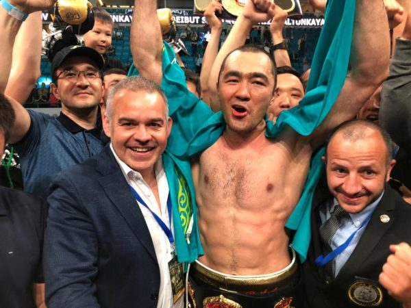 WBA orders purse bid for the Shumenov- Goulamirian