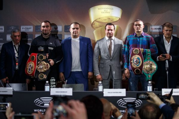 Gassiev and Usyk Hold Final Press Conference