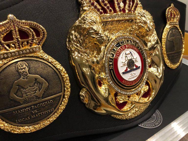 AMB entregará cinturón conmemorativo para Matthysse-Pacquiao.