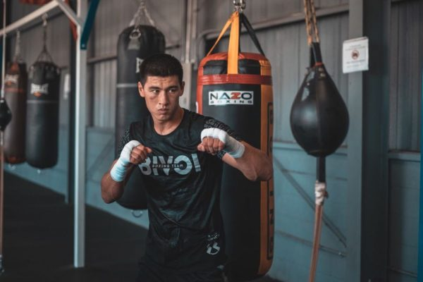 "Dmitry Bivol: ""My team is the best team""."