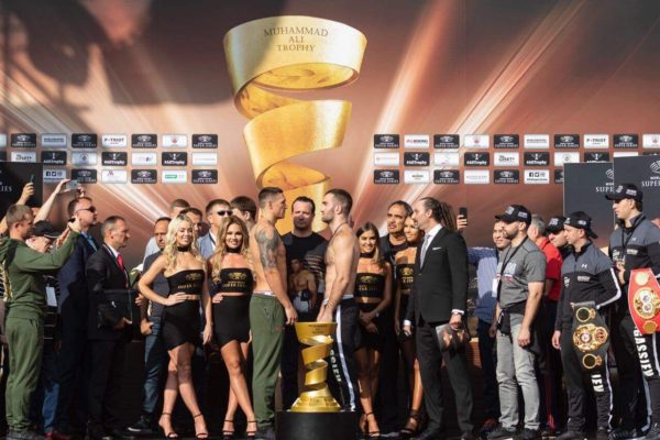 Gassiev and Usyk Make Weight for Historic Showdown. Photo: WBSS.