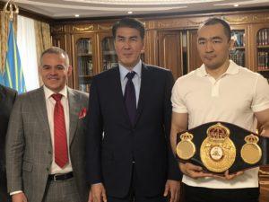 Gilberto Jesus Mendoza culminates a successful tour in Astana
