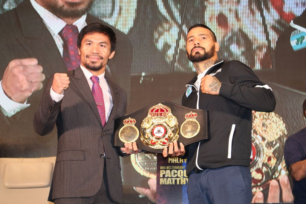 Pacquiao looks to solidify legacy while Matthysse is in search of glory
