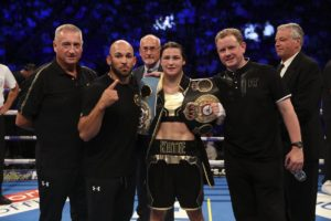 Katie Taylor Impressive at the O2