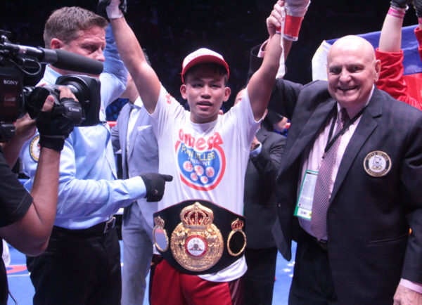 Tepora loses the WBA Interim Title