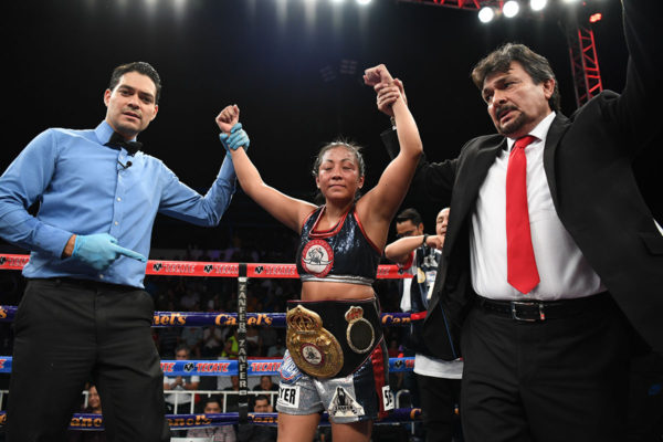 Anabel Ortiz wins 10th title defense in Chihuahua