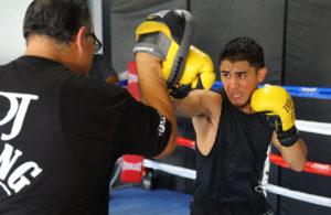 Prepared 'JoJo' Diaz to play with fire against Rojas. photo: Tom Hogan-Hogan Photos / Golden Boy Promotions.