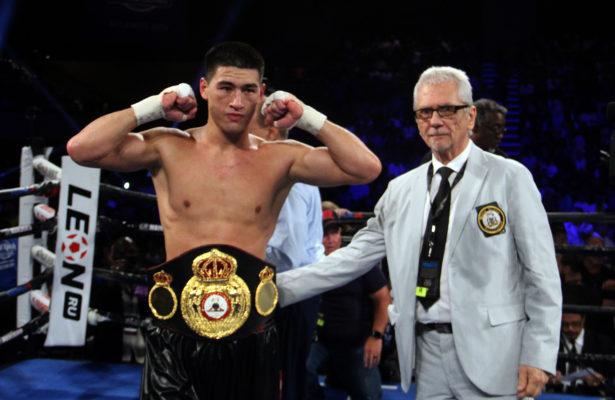 Bivol will defend WBA belt against Pascal in Atlantic City. Photo: Sumio Yamada.