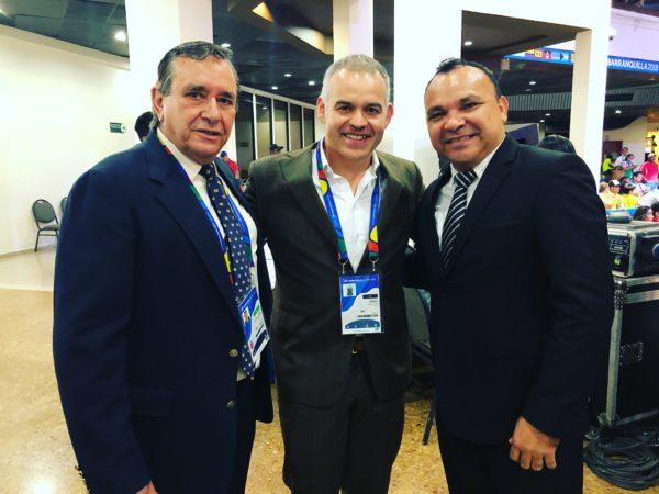 Gilberto Mendoza attended the Central American Games