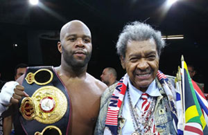 Trevor Bryan Interim WBA Heavyweight Champion