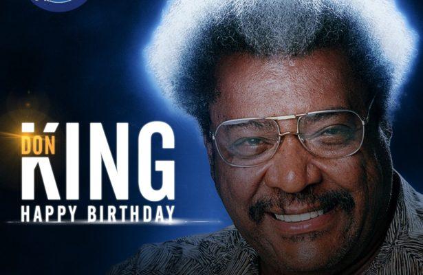 Happy Birthday to Don King.