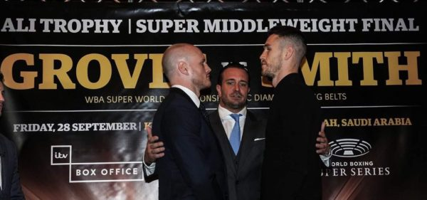 Groves and Smith ready for battle in Saudi Arabia. Photo: World Boxing Super Series.