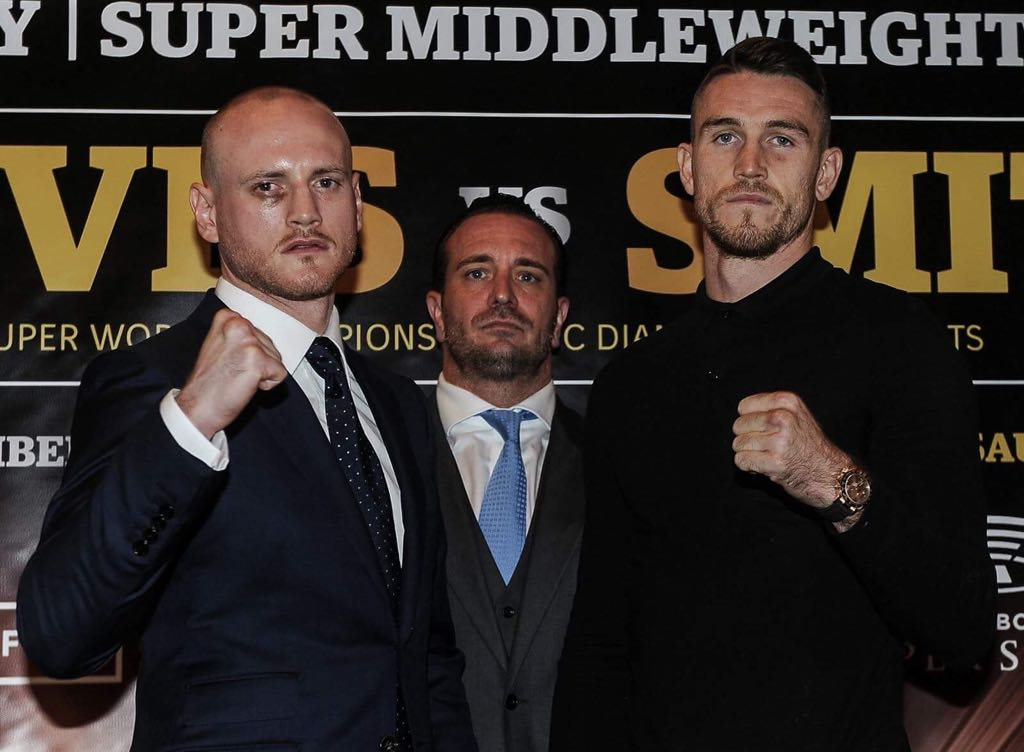 Groves and Smith ready for battle in Saudi Arabia