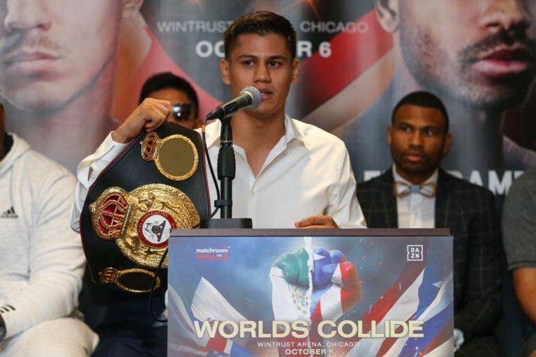 Defenderá Román título AMB ante McDonell. Foto: Matchroom Boxing.
