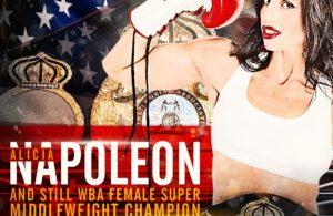 Alicia Napoleon Retains WBA Super Middleweight Title.