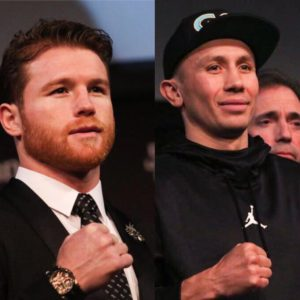 Golovkin and Canelo hold final press conference