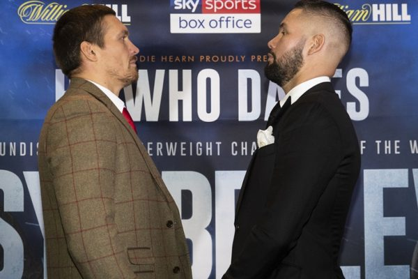 Usyk and Bellew are excited for their showdown