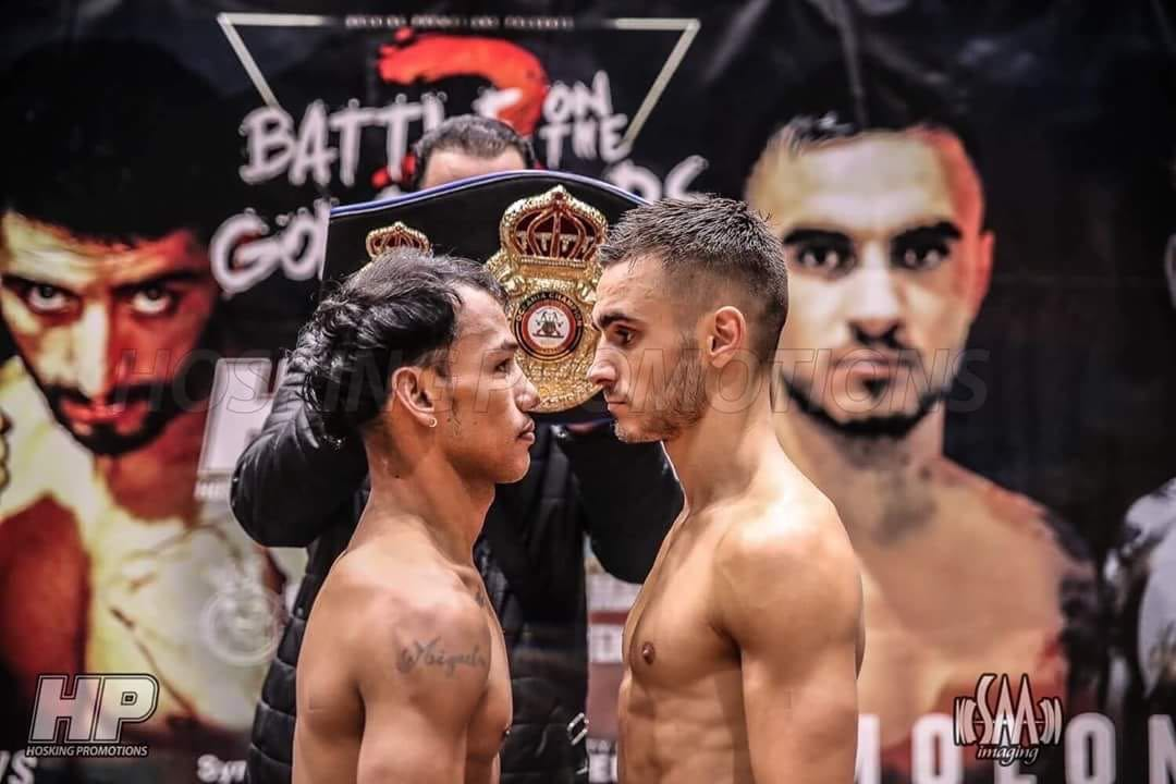 Concepcion and Moloney come in at proper weight in Australia