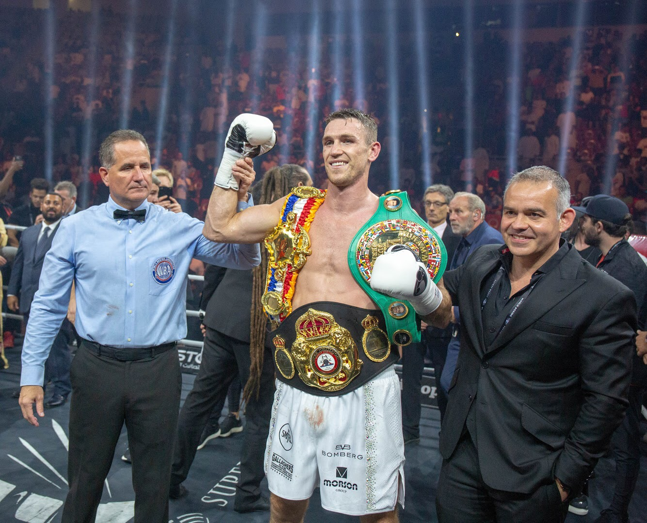Callum Smith will defend WBA Super Title against N'Jikam
