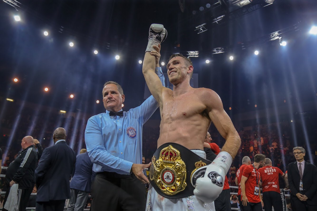 Callum Smith Súper Campeón Supermediano AMB