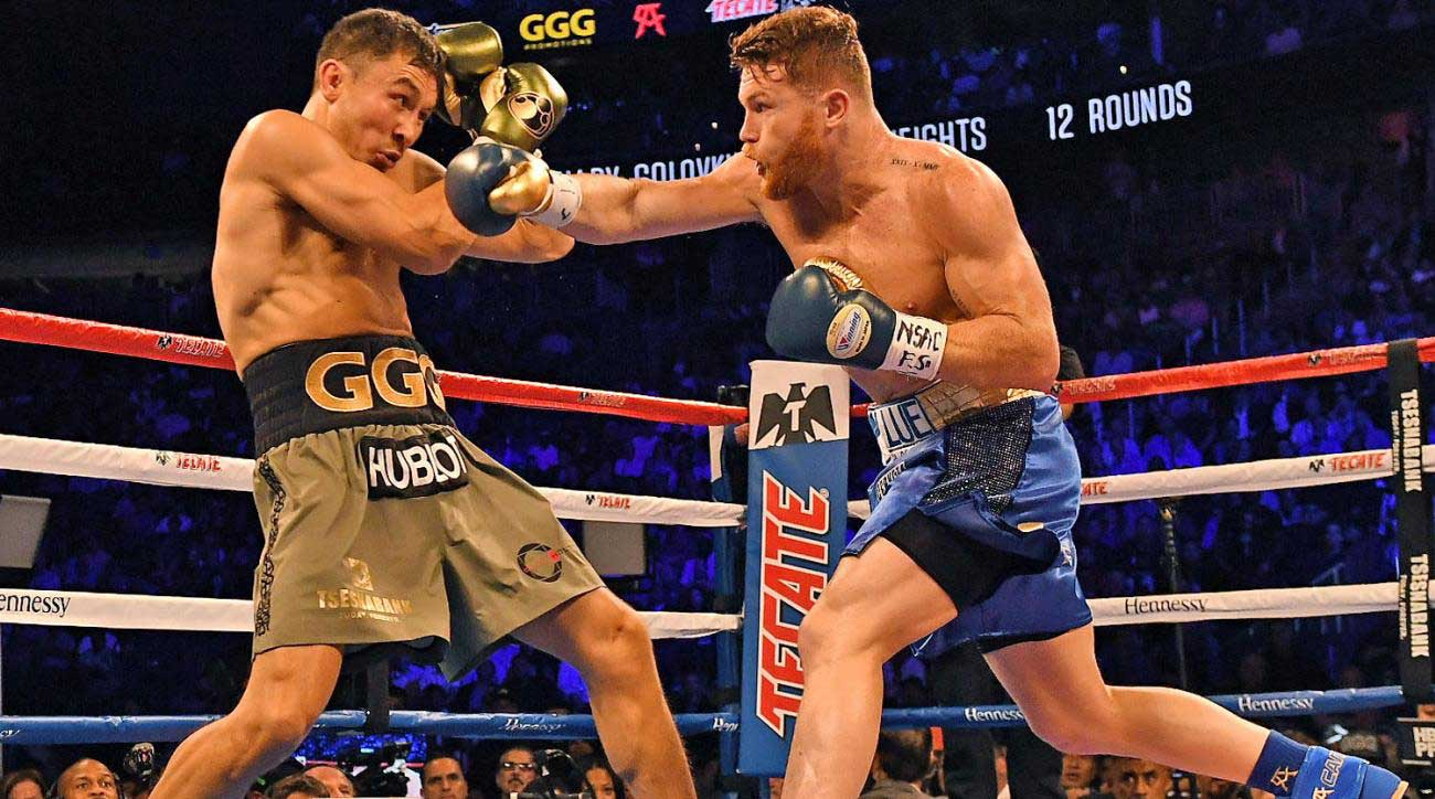 The first Canelo-GGG bout was a great battle