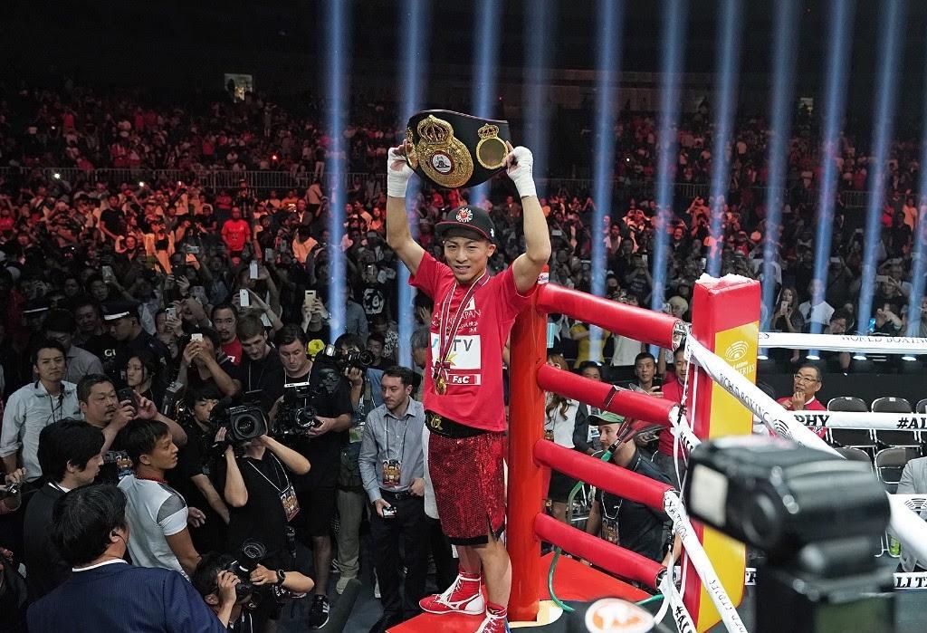 Inoue es el Boxeador del Mes de octubre
