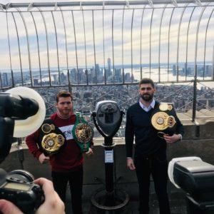 Canelo y Fielding promueven pleito en Nueva York