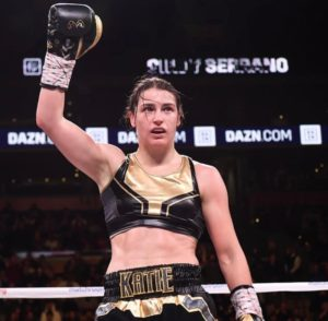 Katie Taylor retains her crown against Serrano Photo: Matchroom Boxing