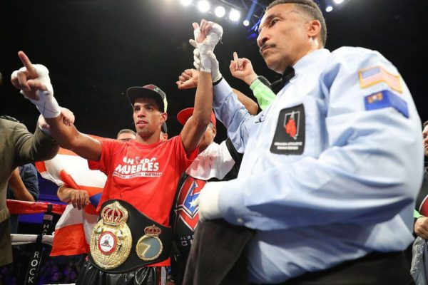 Machado will make his second defense WBA title