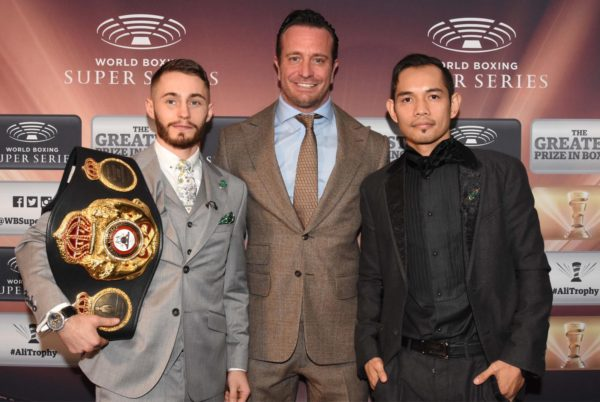Burnett and Donaire praise each other before the fight