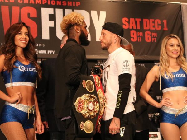 Hurd and Welborn promise explosive match Los Angeles