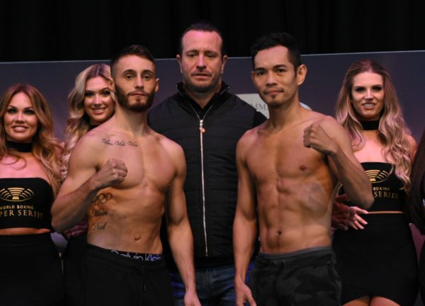 Burnett and Donaire make the weight in Glasgow