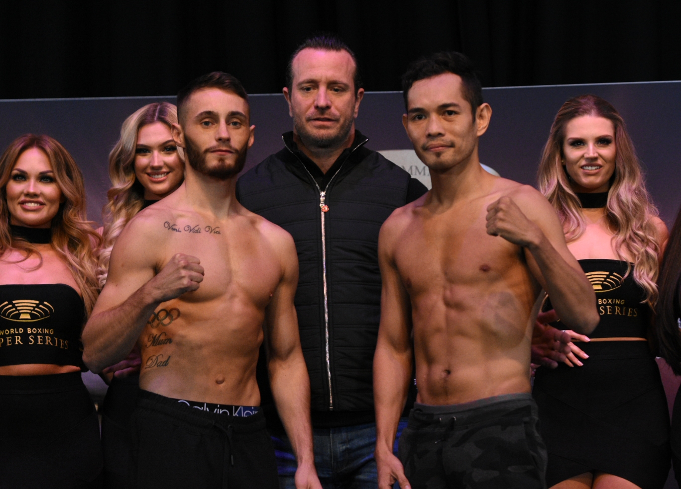 Burnett And Donaire Make The Weight In Glasgow World Boxing Association