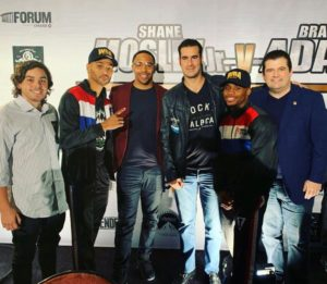 WBA and 'The Contender' join forces