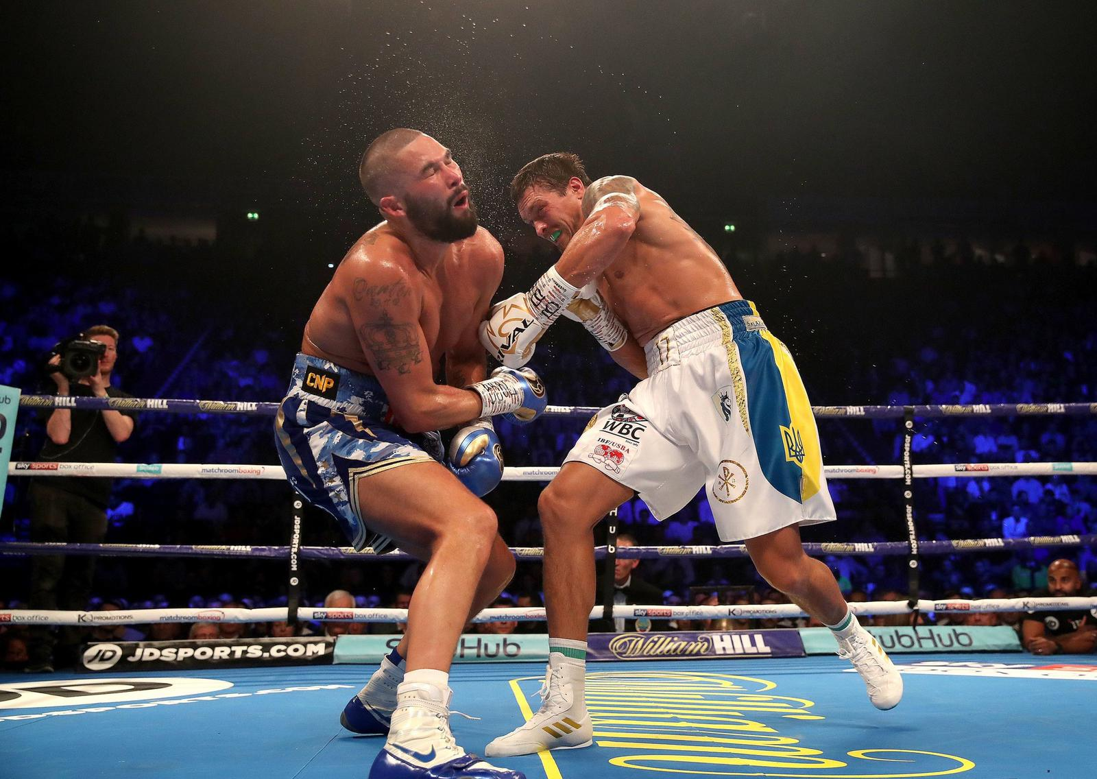 Usyk knocks out Bellew in Manchester