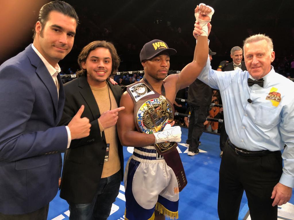Adams is crowned in 'The Contender' and enters WBA rankings