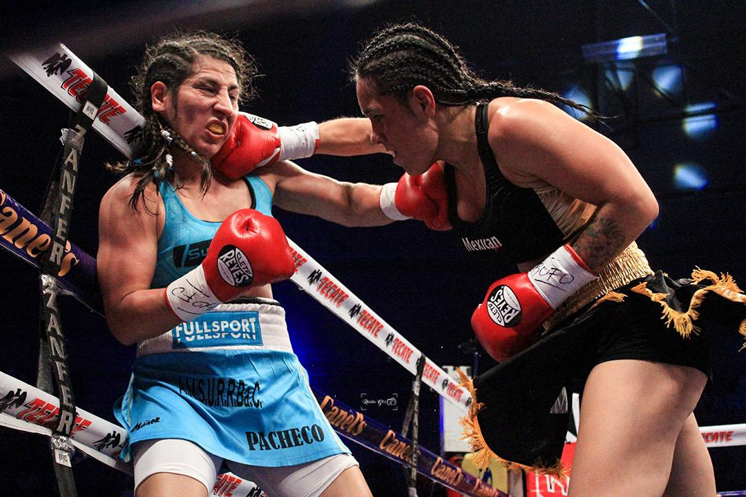 Yazmin Rivas retains Super Bantamweight Title in Tijuana