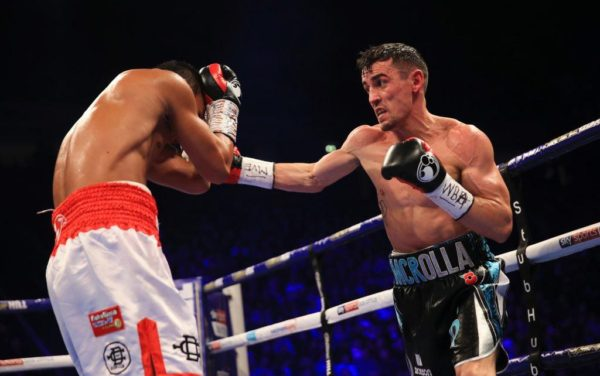 Crolla beats Yordan in elimination bout